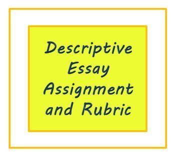 Descriptive essay about a writer